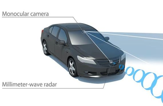 Honda Sensing driver-assistive system 02