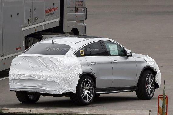 Mercedes-Benz GLE Coupe谍照