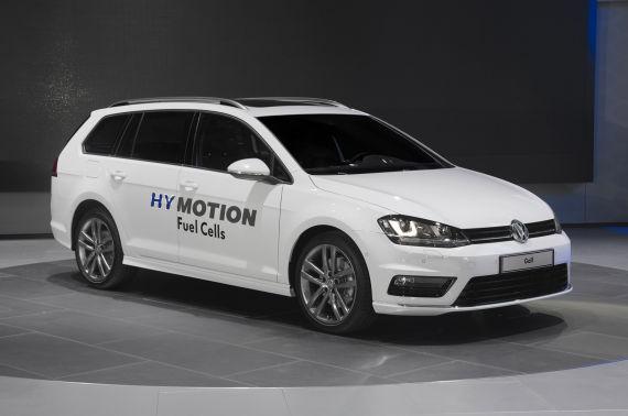 大众发布两款氢动版新车 续航499公里