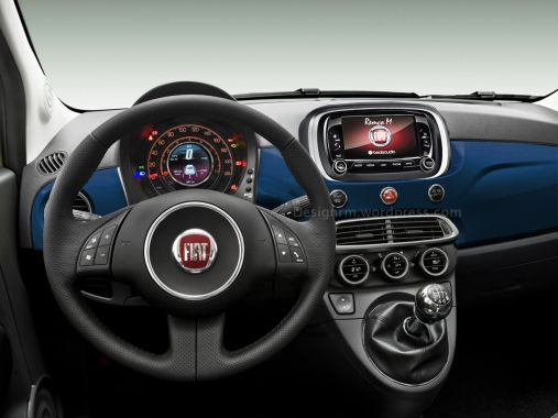 Fiat 500 Facelift Rendering 03