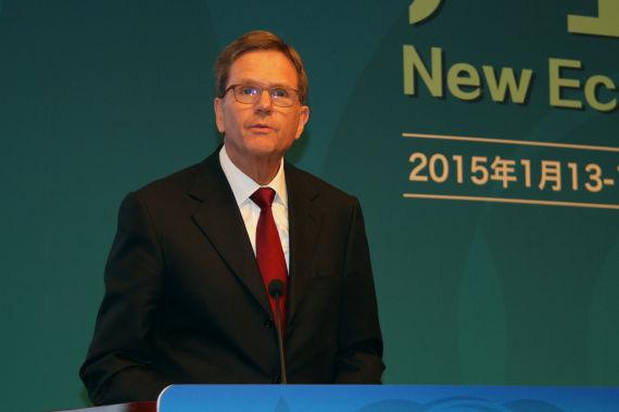 大众中国CEO海滋曼