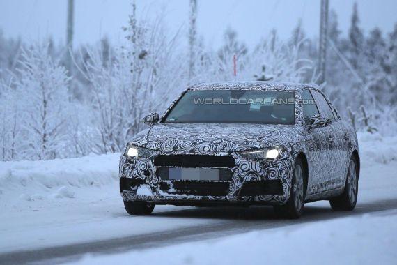 Audi A4 Spy 02
