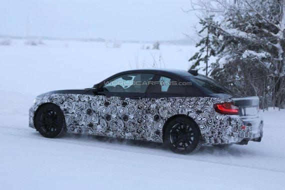 BMW M2 Coupe spy 04
