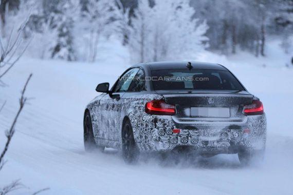 BMW M2 Coupe spy 06
