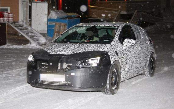 Opel Astra Spy