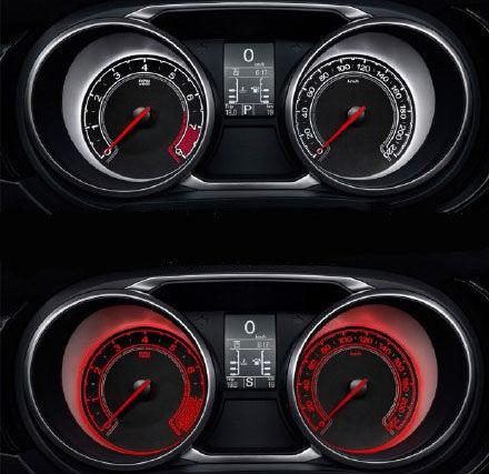 上汽MG GS仪表