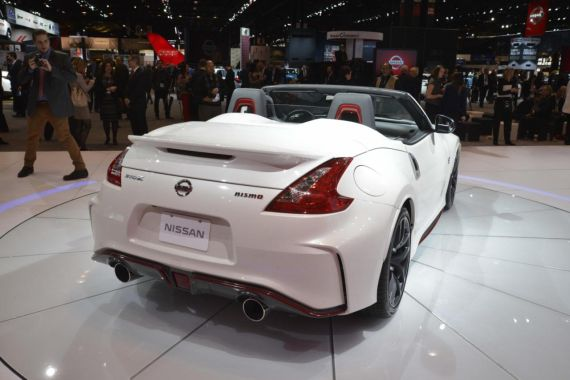 Nissan 370Z NISMO Roadster concept 02