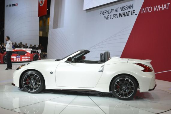 Nissan 370Z NISMO Roadster concept 05