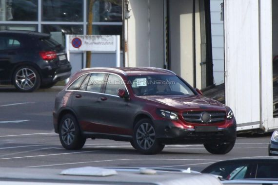 Mercedes GLC spy 02