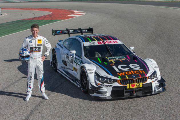 DTM 2015赛季开幕在即 BMW赛车首次亮相