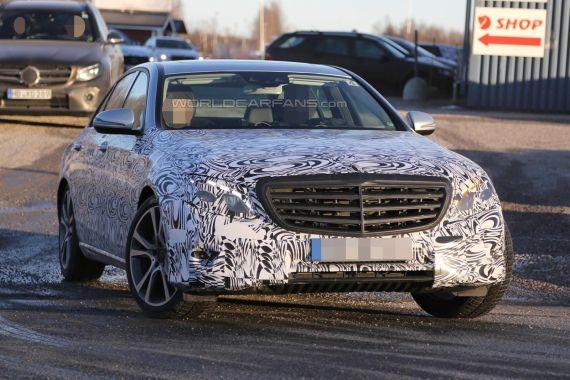 Mercedes-Benz E-Class Spy 05