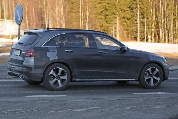 Mercedes-Benz GLC spy 03