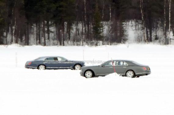 Bentley Mulsanne LWB spy 05
