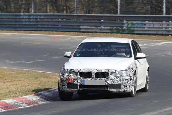 BMW 3-series facelift plug-in hybrid spy 06