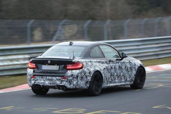 BMW M2 Coupe Spy 13