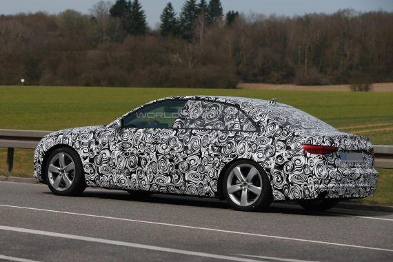 Audi A4 Spy 06
