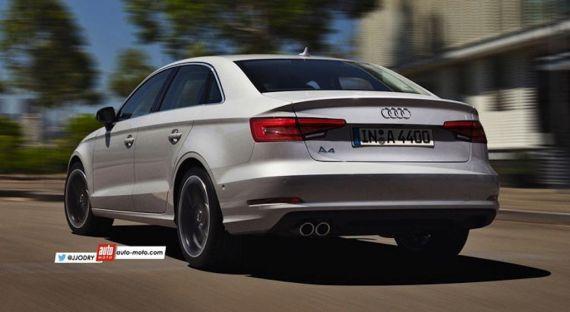 Audi A4 render 02