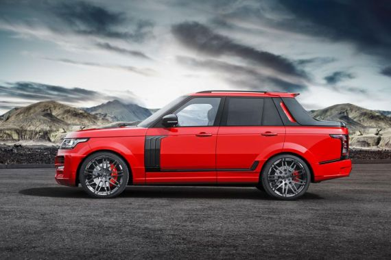 Range Rover pick-up 03