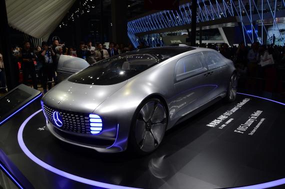 奔驰 F 015 Luxury in Motion概念车