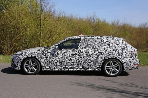 Audi S4 Avant spy 02