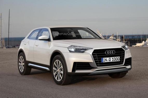 Audi Q1想象图
