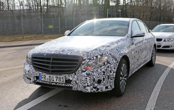 Mercedes-Benz E-Class spy 02