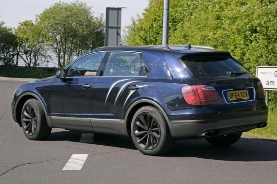 Bentley Bentayga spy 06