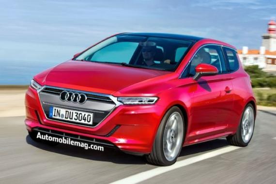 New Audi City Car 合成图