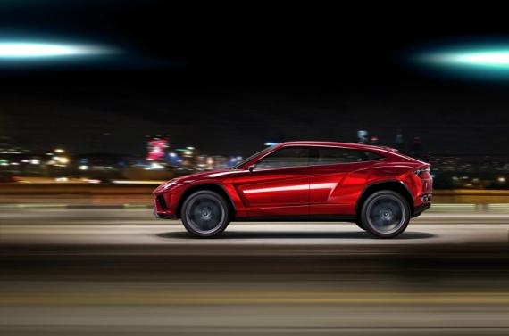 Lamborghini Urus concept 06