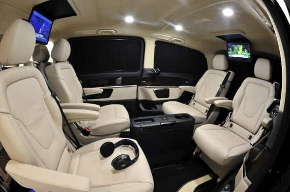 Mercedes V-Class by Brabus 10