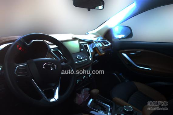 东南汽车DX7博朗新谍照曝光 7月正式上市高清图片