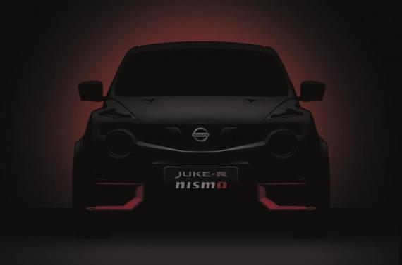 Juke-R Nismo概念车预热图