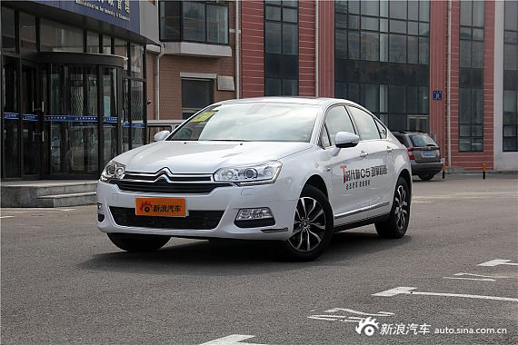 2014款东风雪铁龙C5 1.6T 自动尊享型到店实拍