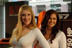 2006北美车展美女车模