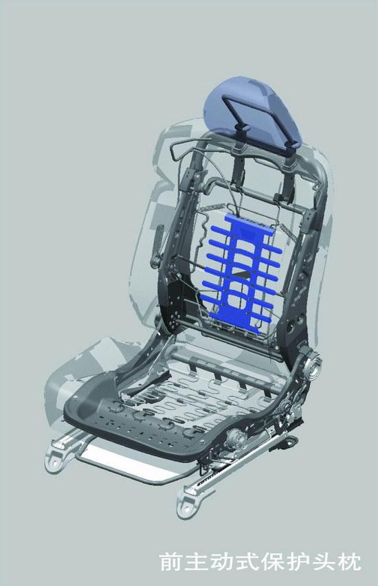 图为思铂睿儿童安全座椅固定设备