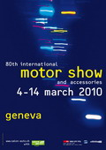 日内瓦车展海报欣赏 官方网站 展馆地图