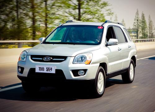 起亚狮跑现车充足优惠1.8万最低14.28万元