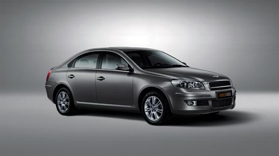 瑞麒G5上市三款车型售价14.28-17.98万元
