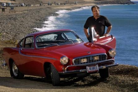 1966款沃尔沃P1800冲击300万英里驾驶纪录