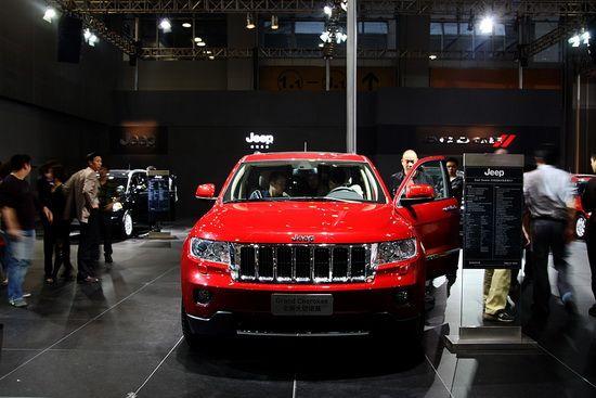 全新Jeep Grand Cherokee大切诺基亮相广州车展