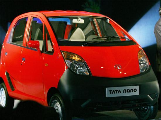 印度Tata全新Nano微型车