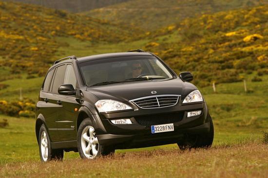双龙汽车-明年国产 荣威SUV将同平台生产(图)