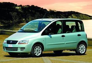 众泰购买了菲亚特LanciaLybra和Multipla(上图)装配线模具和知识产权。资料图片