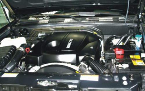 双龙雷斯特Ⅱ发动机图片