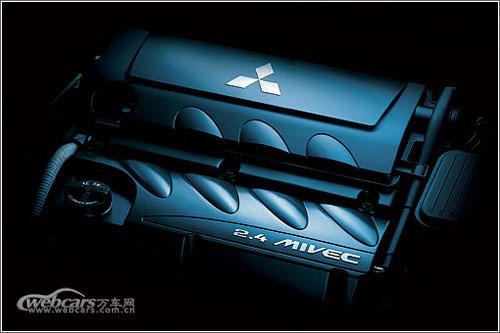 君阁将搭载2.4 MIVEC发动机