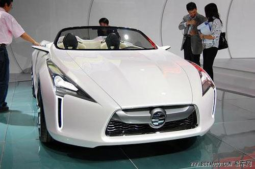 广州本田携第二款理念自主概念跑车全球首发