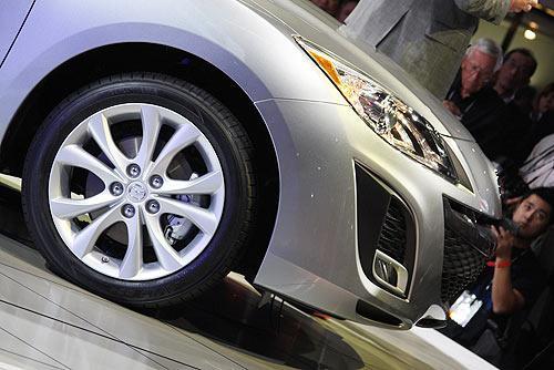 全新2010款马自达3亮相洛杉矶车展