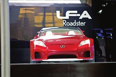 雷克萨斯LF-ARoadster