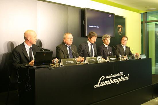 意大利顶级跑车制造商兰博基尼在华设立分公司