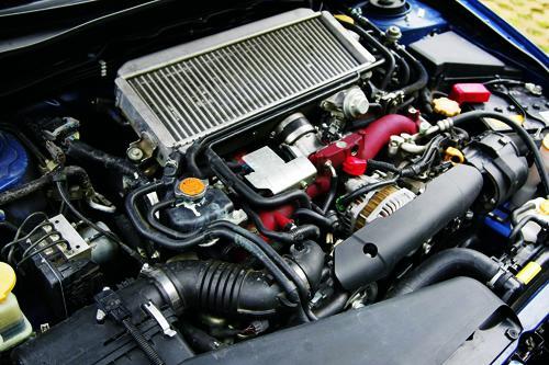 斯巴鲁Impreza WRX STI发动机